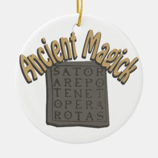 Ancient Magick Ceramic Ornament