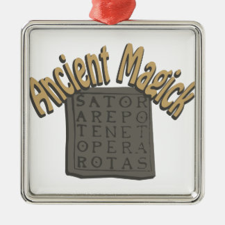 Ancient Magick Metal Ornament
