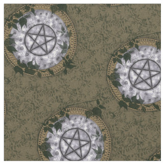 Ancient Magick Pagan Pentacle Altar Cloth
