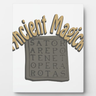 Ancient Magick Plaque