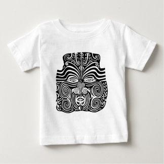 Ancient Maori Moko tribal tattoo design. Shirts