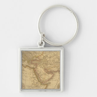 Ancient Map Keychain