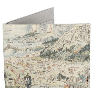 Ancient map of Fairyland by Bernard Sleigh Tyvek Wallet