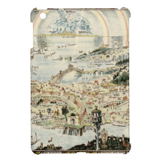 Ancient map of Fairyland by Bernard Sleigh iPad Mini Covers