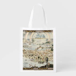 Ancient map of Fairyland by Bernard Sleigh Market Totes