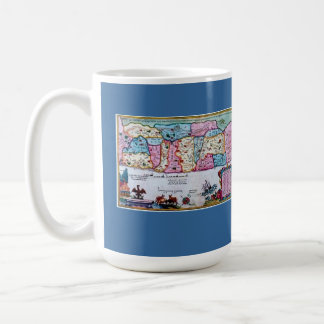 Ancient Map of Israel From Roman Times Classic White Coffee Mug