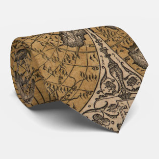 Ancient Map of The World (1531) Tie