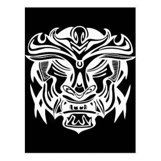 Ancient Mask 2 Postcard
