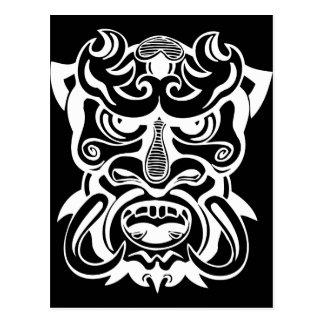 Ancient Mask 6 Postcard