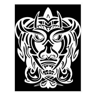 Ancient Mask 7 Postcard