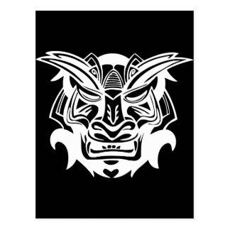 Ancient Mask Postcard