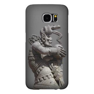 Ancient Maya Statue Samsung Galaxy S6 Cases