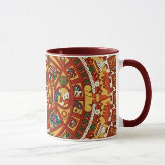 Ancient Mayan Aztec Calendar Coffee Mug Design ~