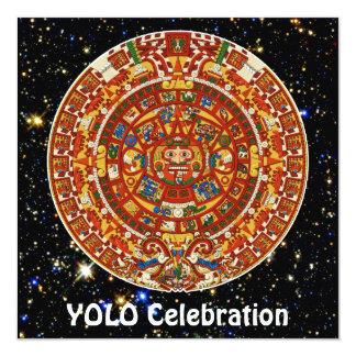 Ancient Mayan Aztec Symbol Announcements