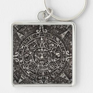 Ancient Mayan Calendar Keychain