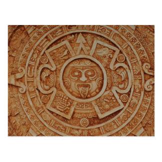 Ancient Mayan Calendar Postcard