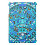 Ancient Mayan Calendar Symbol Cover For The iPad Mini