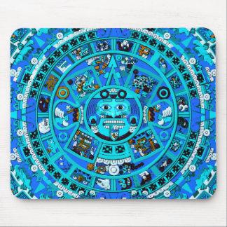 Ancient Mayan Calendar Symbol Mouse Pad