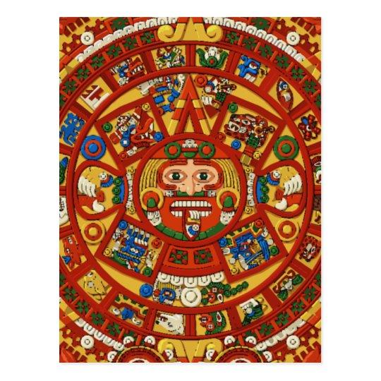 Ancient Mayan Calendar Symbol Postcard Zazzle