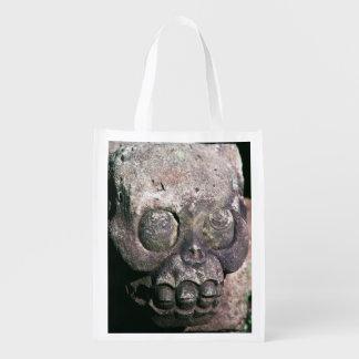 Ancient Mayan City Copan Ruins Honduras Designed Grocery Bag
