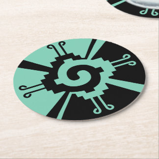Ancient Mayan Coasters in any Color you wish