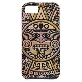 Ancient Mayan Maya Disk Carving iPhone 5 Cover