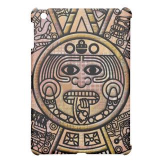 Ancient Mayan Maya Disk Carving iPad Mini Covers