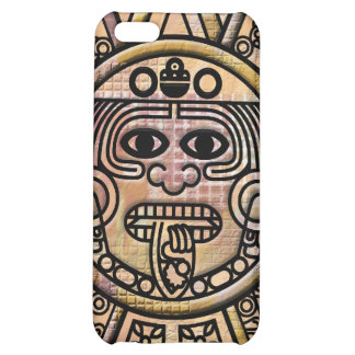 Ancient Mayan Maya Disk Carving Case For iPhone 5C