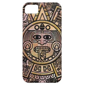 Ancient Mayan Maya Disk Carving iPhone SE/5/5s Case