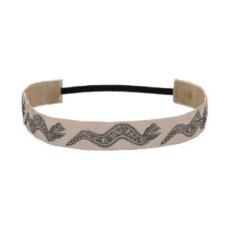 Ancient Mayan Elastic Headbands