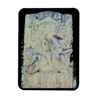 Ancient Mayan Ruins Copan Honduras Photo Designed Magnet