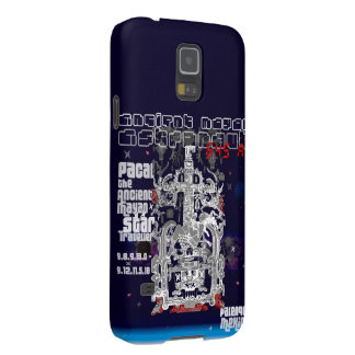 Ancient Mayan Space Traveller Astronaut Palenque Case For Galaxy S5