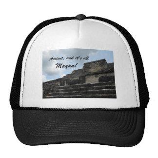 Ancient Mayan Sun God Temple Trucker Hat
