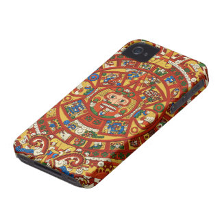 Ancient Mayan Symbol of Prophesy iPhone 4 Cover