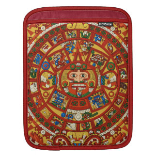 Ancient Mayan Symbol of Prophesy Sleeves For iPads