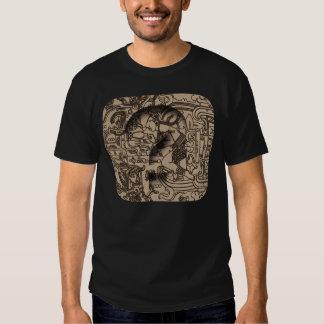 Ancient Mayan UFO - Carving on Pacal's Sarcophagus Shirt
