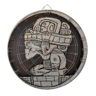Ancient Mayan Warrior Dart Board