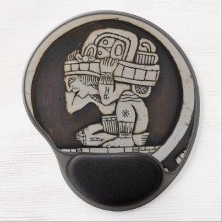 Ancient Mayan Warrior Gel Mouse Pad