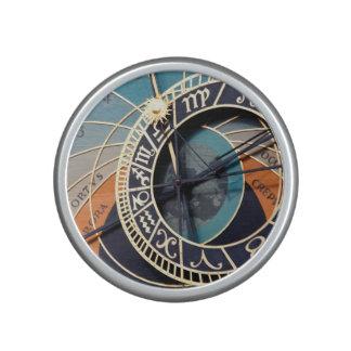 Ancient Medieval Astrological Clock Czech Bluetooth Speaker