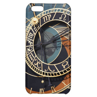 Ancient Medieval Astrological Clock Czech Cover For iPhone 5C