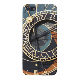 Ancient Medieval Astrological Clock Czech Cover For iPhone SE/5/5s