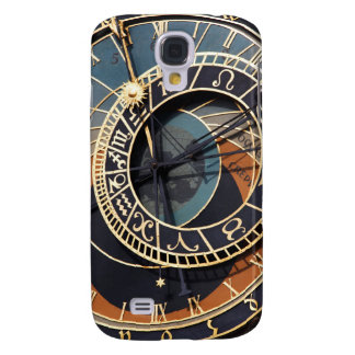 Ancient Medieval Astrological Clock Czech Galaxy S4 Cover
