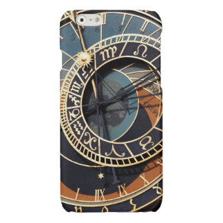 Ancient Medieval Astrological Clock Czech Glossy iPhone 6 Case