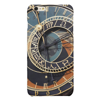 Ancient Medieval Astrological Clock Czech Glossy iPhone 6 Plus Case