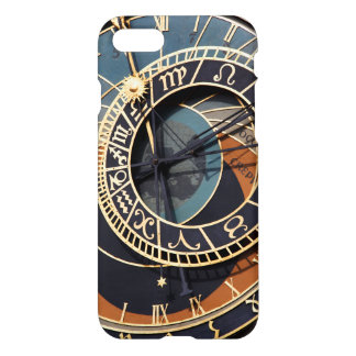 Ancient Medieval Astrological Clock Czech iPhone 7 Case