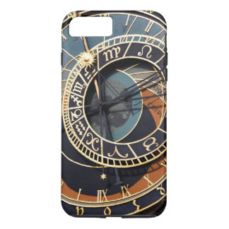 Ancient Medieval Astrological Clock Czech iPhone 7 Plus Case