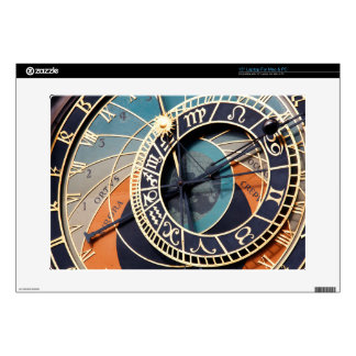"""Ancient Medieval Astrological Clock Czech Skin For 15"""" Laptop"""