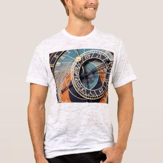 Ancient Medieval Astrological Clock Czech T-Shirt