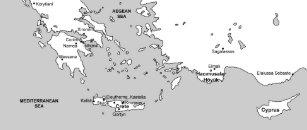 Antique Mediterranean Sea Map Gifts on Zazzle