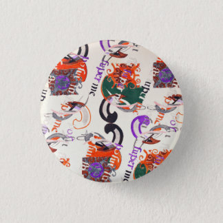 Ancient melody pinback button